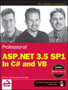 Wrox Professional ASP.NET 3.5 SP1 In C# and VB